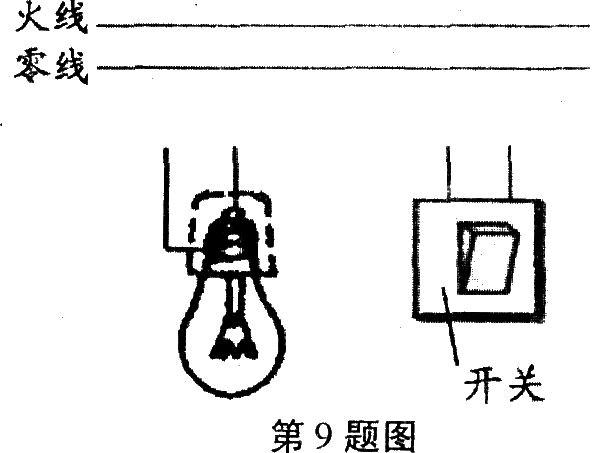 灯泡灯口接线图