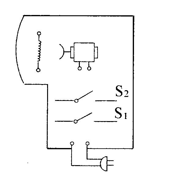 导线若干,利用这些器材可以连接成一个有冷,热两档风的电吹风电路.