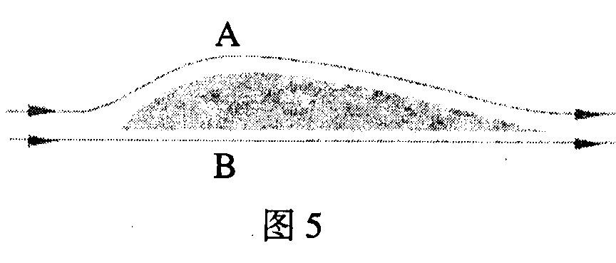 如图5所示,是飞机机翼的截面图