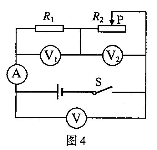 当滑动变阻器的滑片p向右移动时