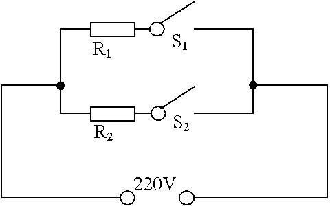 5Ω的两根电阻丝,两个开关(s1,s2)