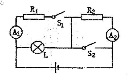 小学小灯泡的串并联电路图