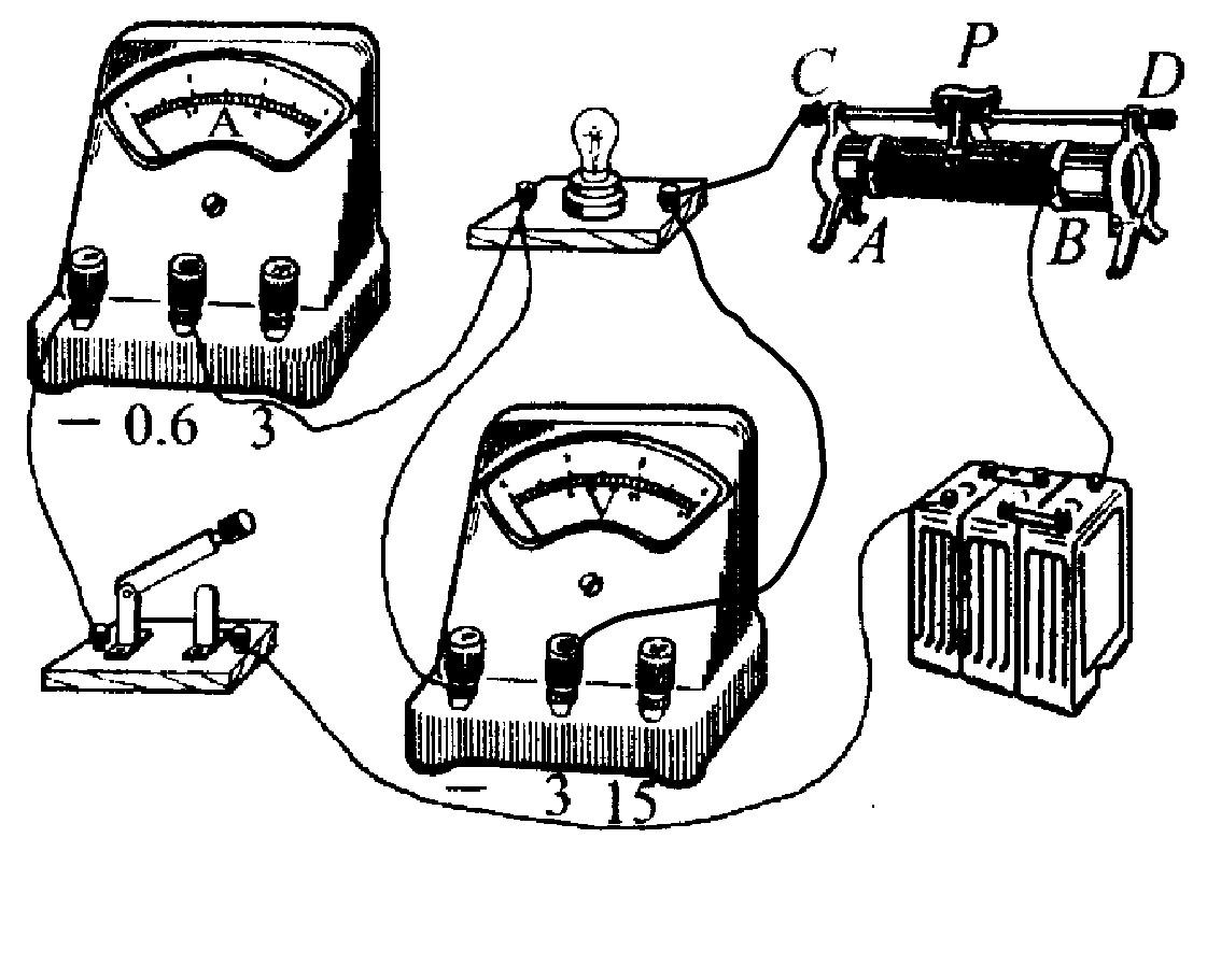"""某同学做""""测定一个小灯泡的功率""""的实验,所用灯泡的额定电压是2.2v."""