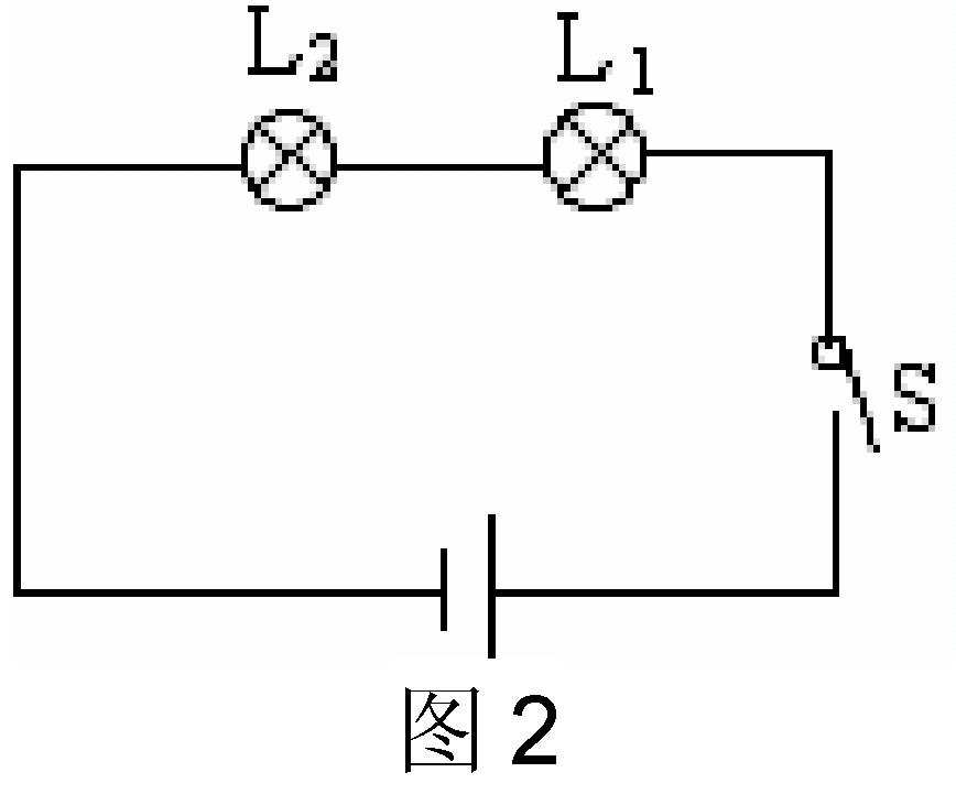 如图所示 在做连接串联电路的实验中