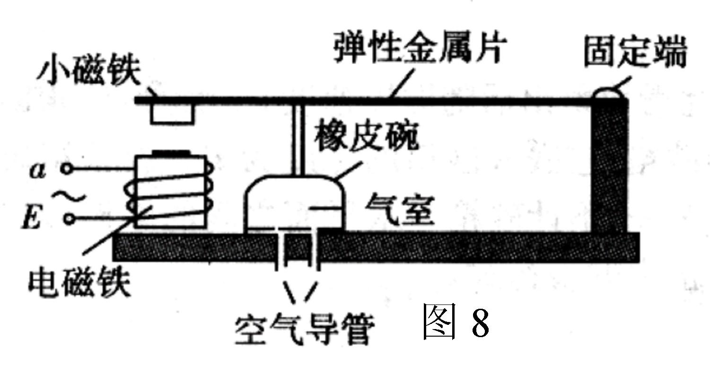 设想制作一个电动充气泵