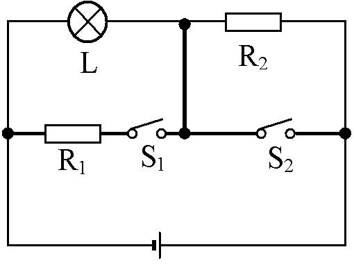(08乐山)如图所示电路中