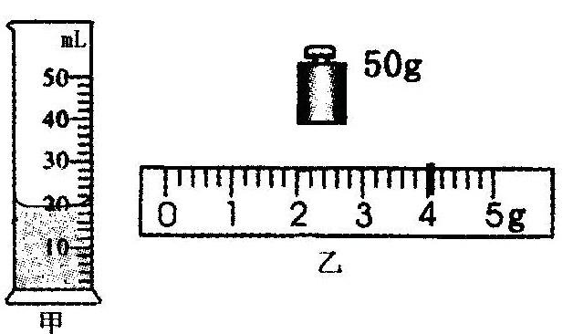 """在""""测量盐水密度""""的实验中"""