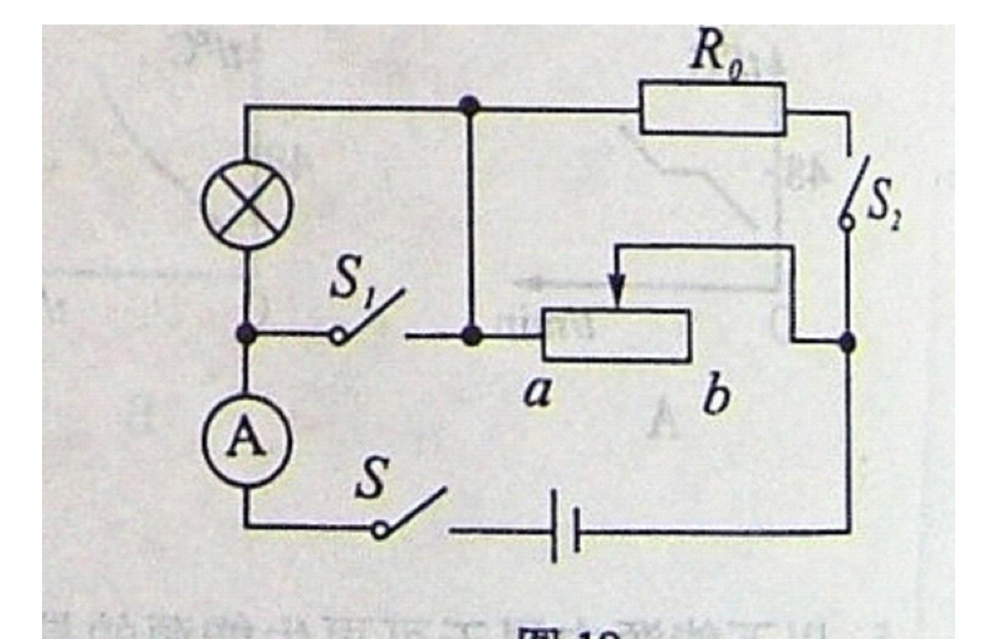 (08广西钦州)如图19所示,电源电压为12v,且保持不变