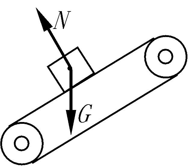初中物理08湖北荆门物理中考试卷有答案; 传送带一起匀速斜向上运动
