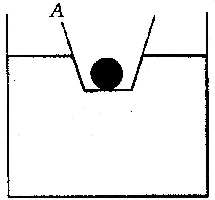 装有金属球的小容器a漂浮在盛有水的圆柱形大容器b的
