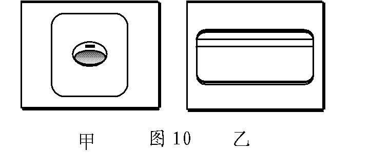 如图所示为家庭电路常用的两种墙壁开关