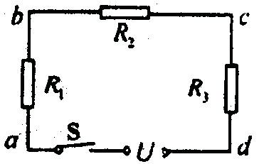 如图所示电路中,电源电压为u=10v