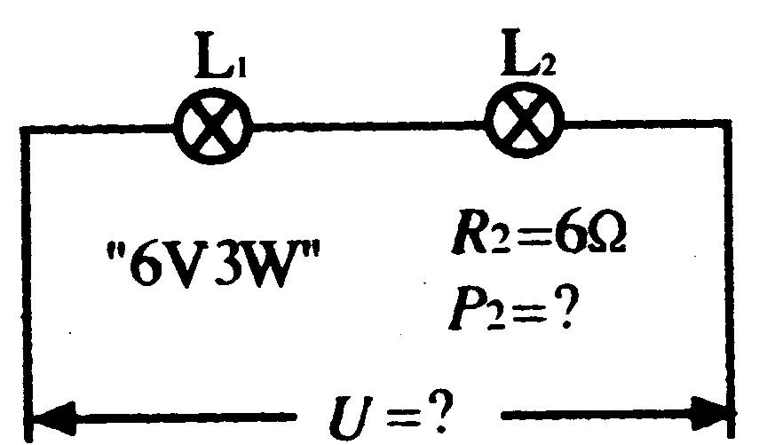"""有两个灯泡,l1标有""""6v023w""""字样,l2没有标记,测得l2"""