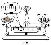 使用托盘天平测质量前,应先将游码调到标尺的