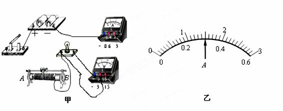 """在""""测定小灯泡的电阻""""实验中"""