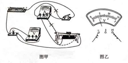 """小明在""""测量小灯泡的电阻""""实验中"""