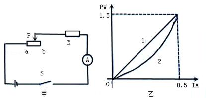 因此滑动变阻器接入电路的阻值为零