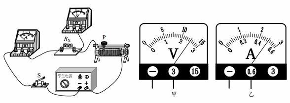 某同学用如图甲所示的实验装置测小灯泡的电阻:  甲乙 (1)请你帮他用笔划线代替导线连接实物电路,导线不允许交叉。 (2)该同学连接好电路后,闭合开关,发现小灯泡不亮,电流表的指针几乎不偏转,电压表有示数,接近电源电压,你认为该电路故障可能是_____。 (3)该同学排除电路故障后,完成实验并将实验数据绘制成图像,如图乙所示,当小灯泡两端的电压为2.